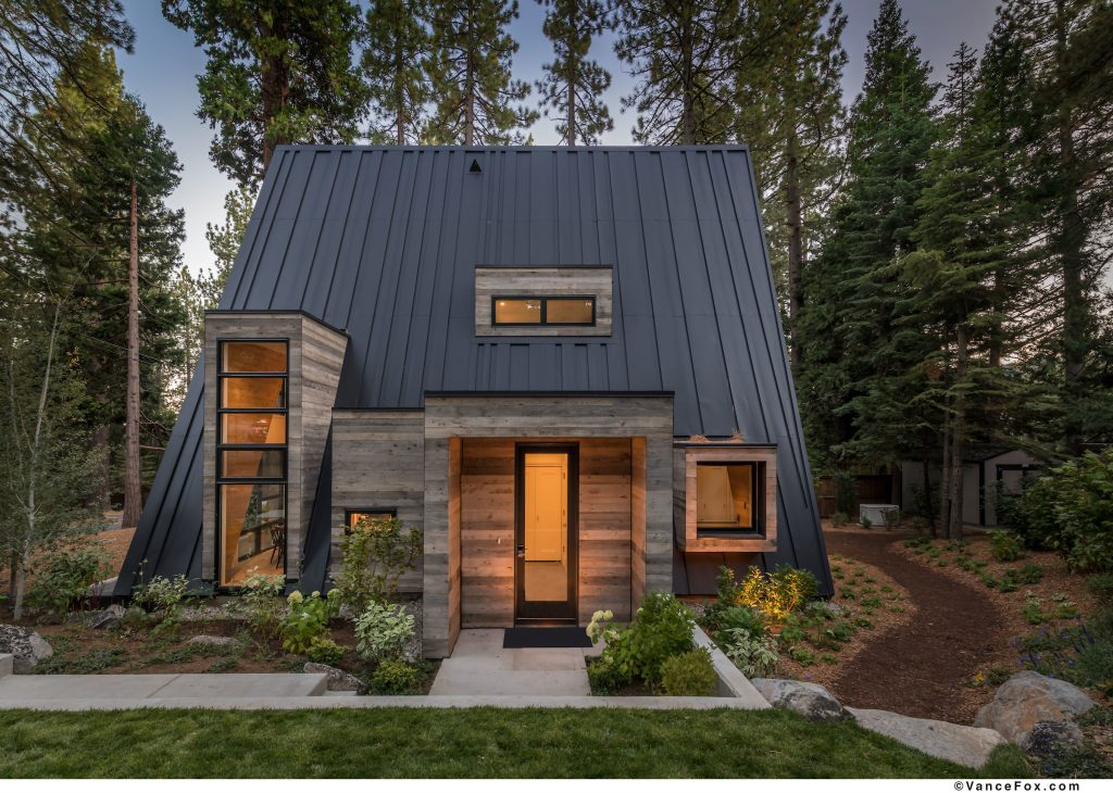 Lake Tahoe new build a-frame