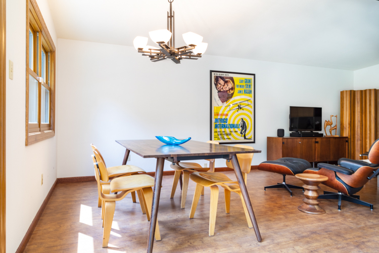 Mid Century Furniture in a SacMod Home