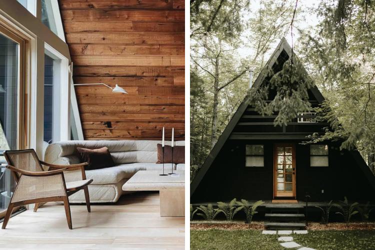 mid century modern airbnb minnesota