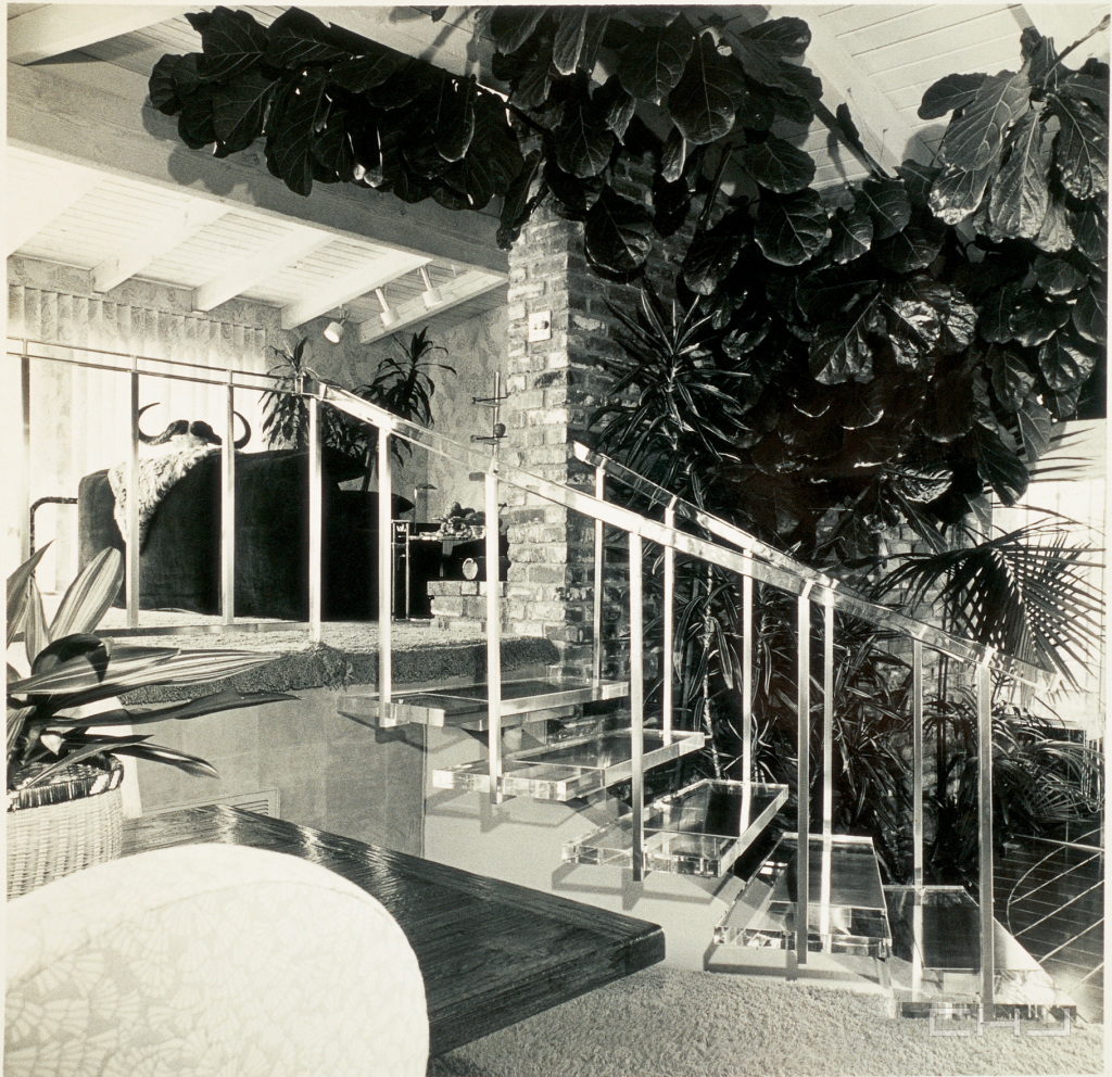Winagred staircase, Charles Hollis Jones Archive