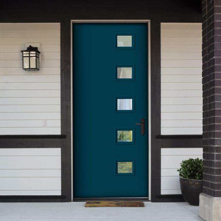 mid century modern front doors builders choice