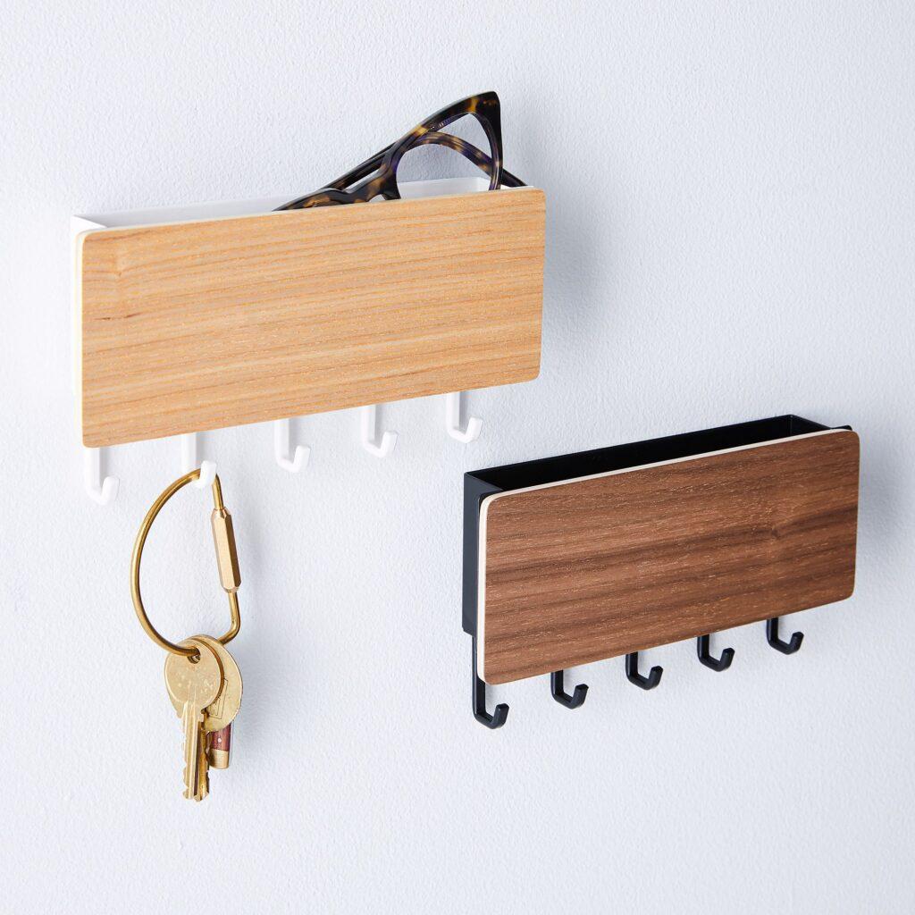 mid century modern storage key holder