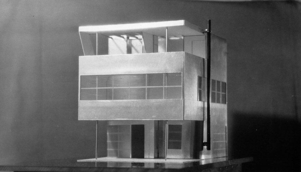Albert Frey's Aluminaire House