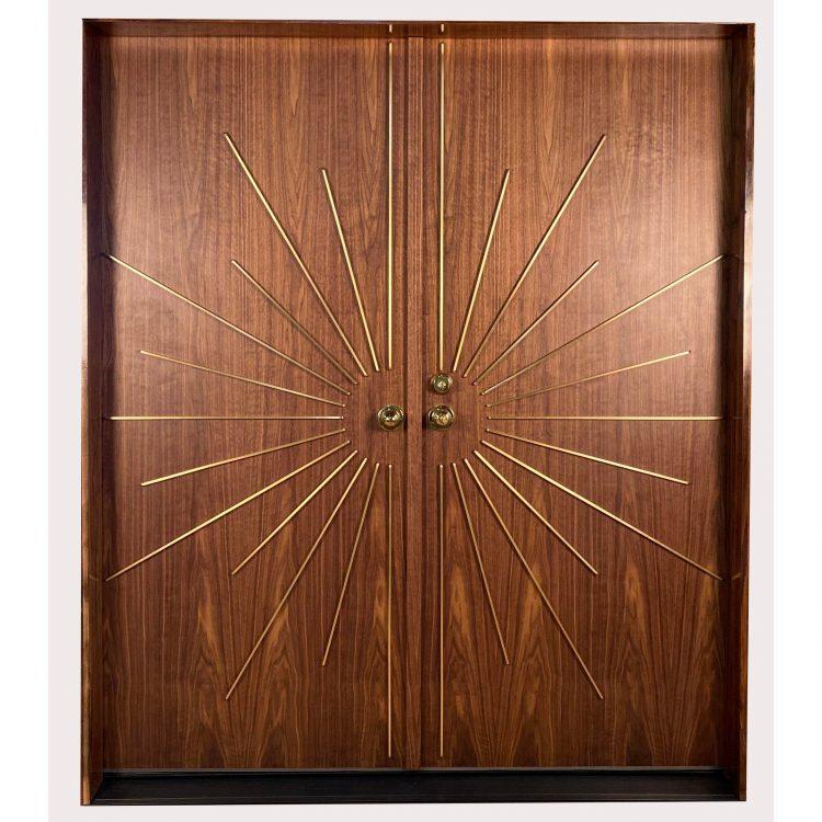 mid century modern front doors history never repeats