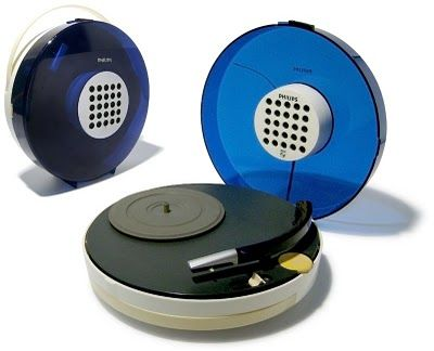 Space Age Philips record player