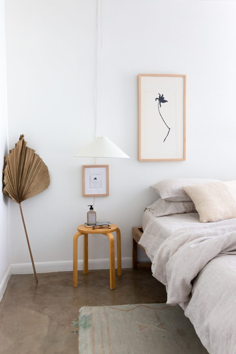 scandinavian modern bedroom