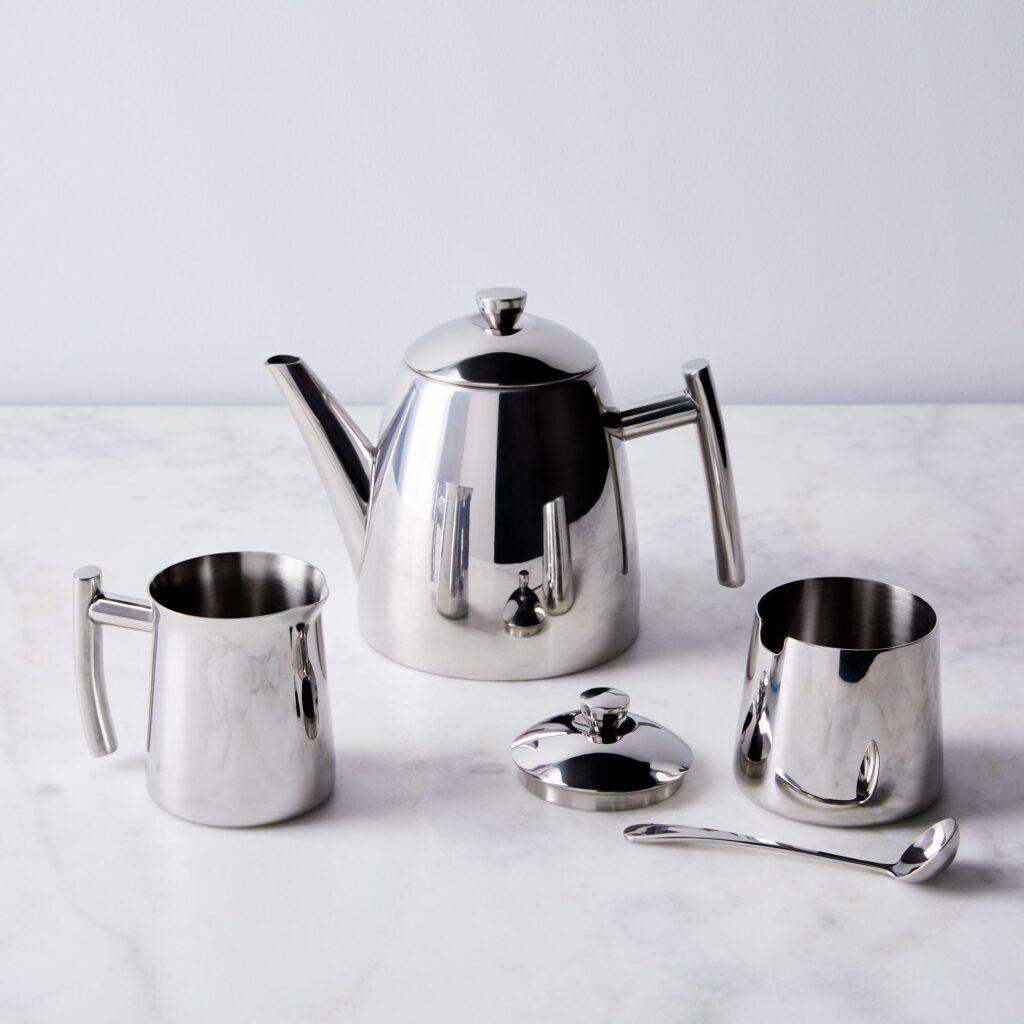 Stainless Steel Tea Service Set