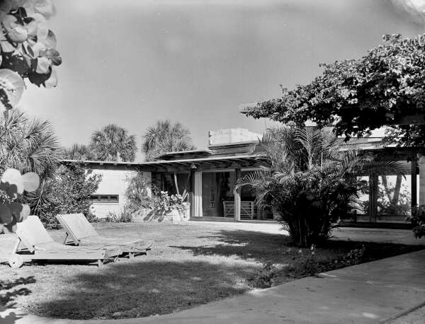 black-and-white image of a Twitchell residence.
