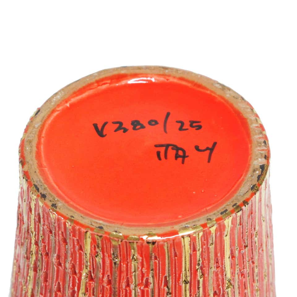 Aldo Londi signed Bitossi vase