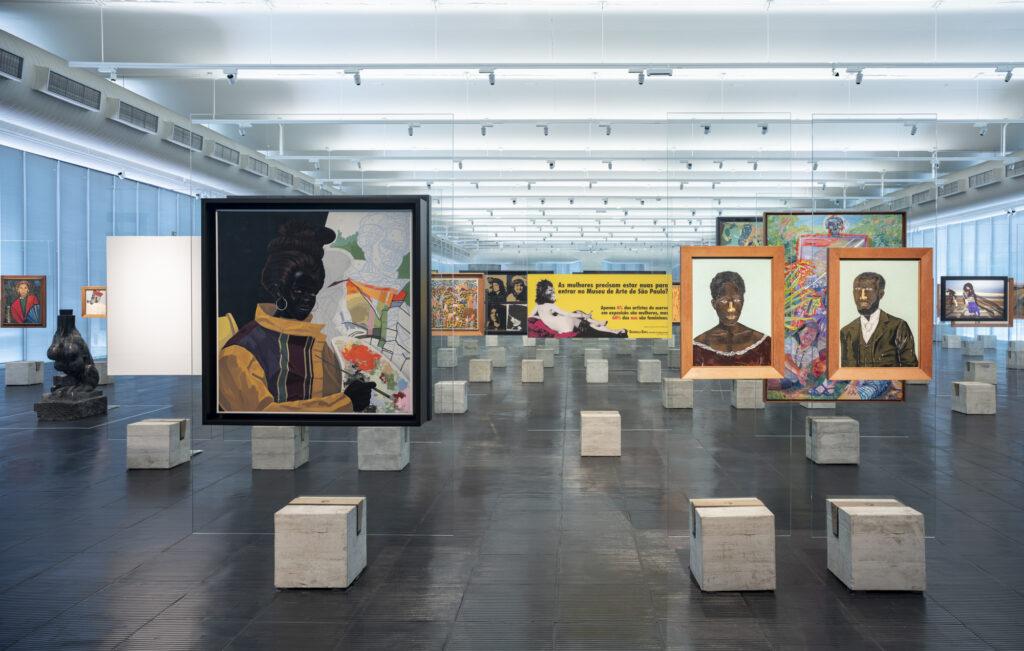 São Paulo Museum of Art interior
