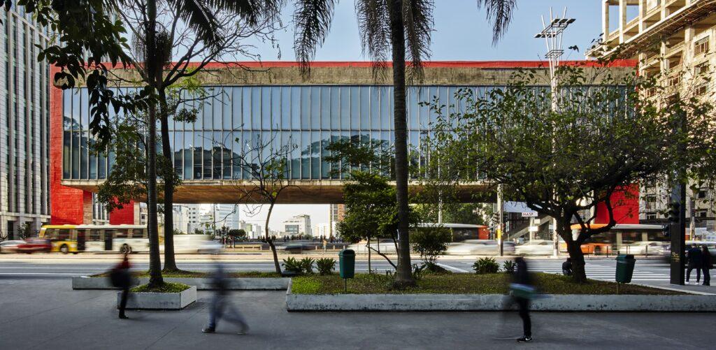 the São Paulo Museum of Art exterior