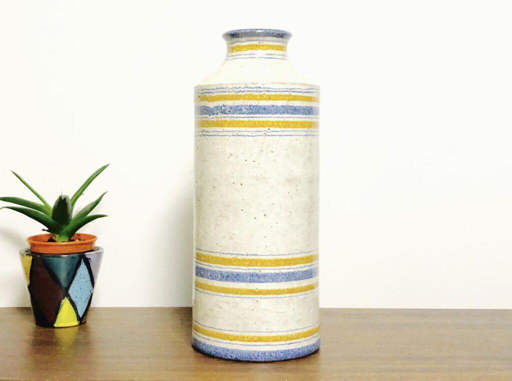 Bitossi vintage cylindrical vase