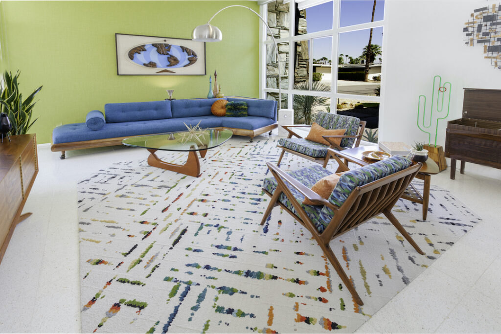 1965 Palm Springs Wexler living room