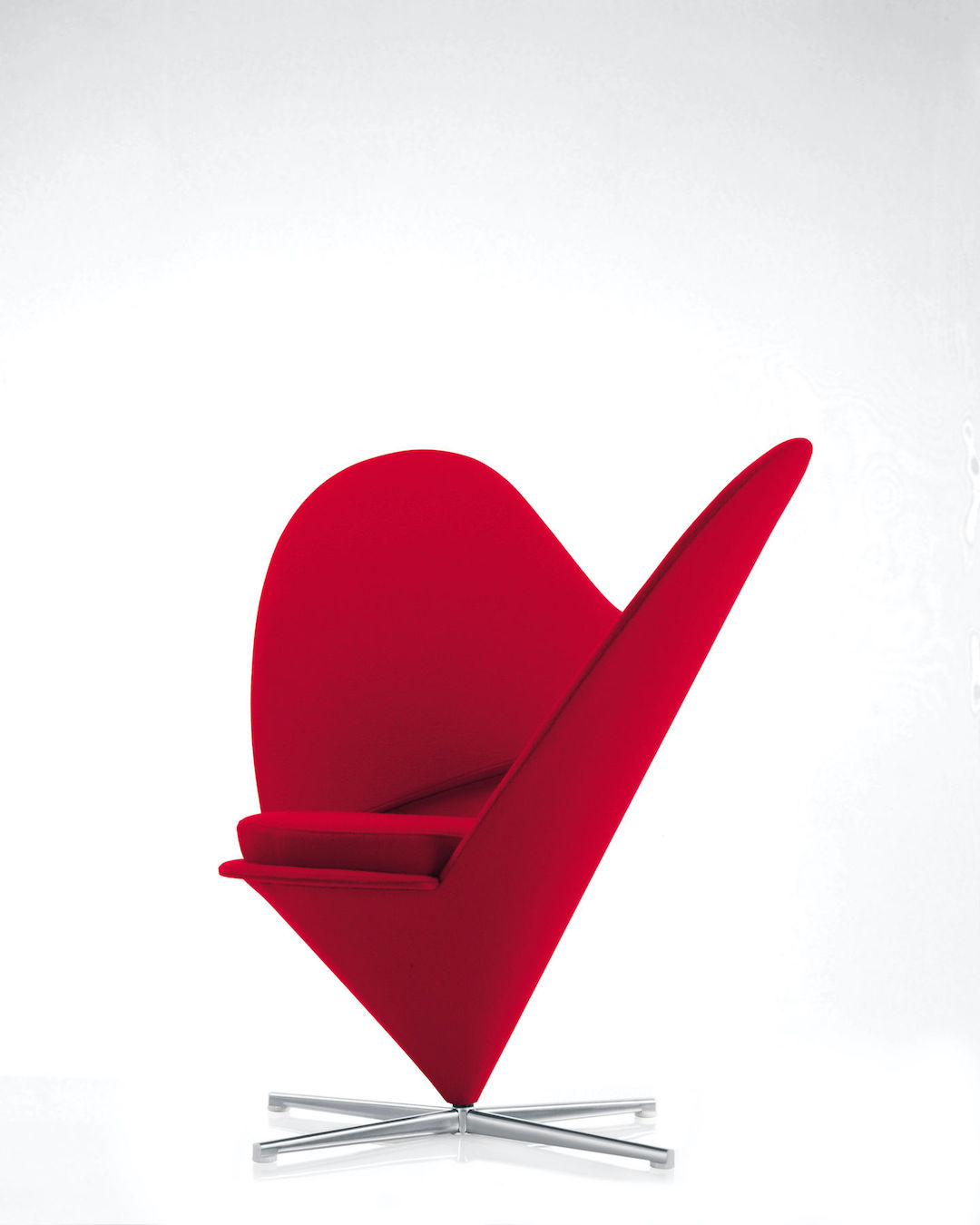 Verner Panton's Heart Cone Chair