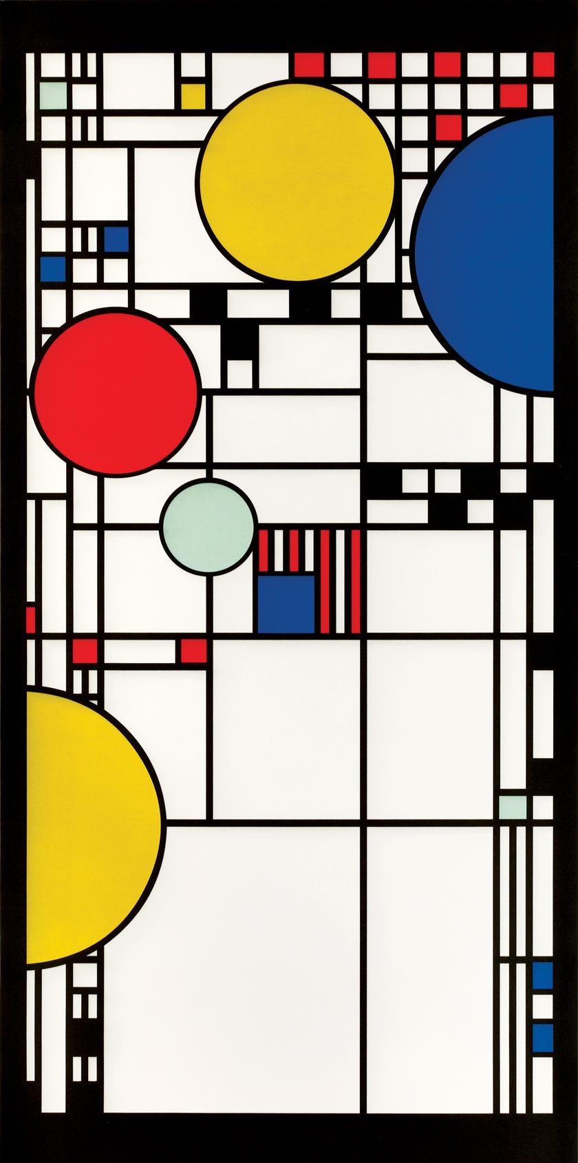 Frank Lloyd Wright design rug