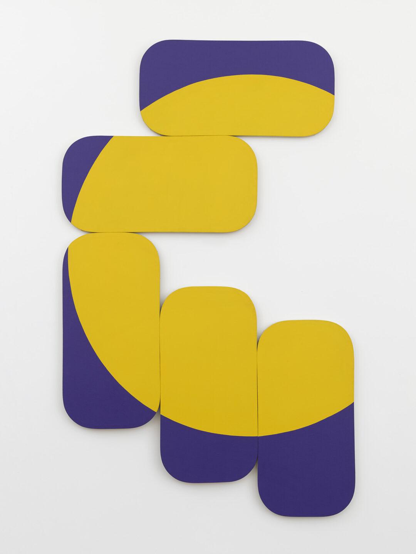 Constellation Yellow-Blue-Violet, 1972
