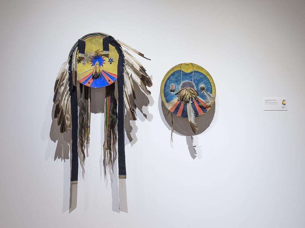 Comanche Shield and Cover, Heard Museum