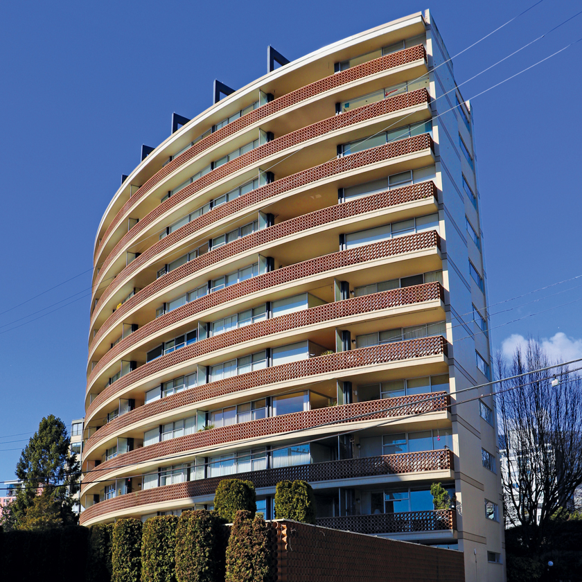 The Crescent Condominium Tower (1961) West Vancouver