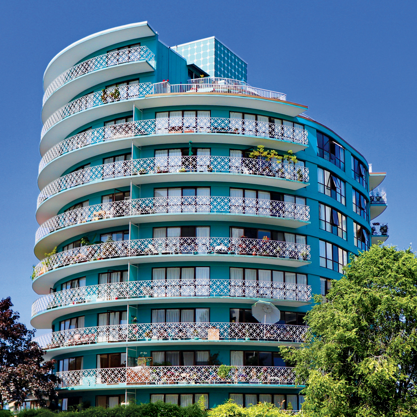 The Shoreland Apartments (1963) in West Vancouver