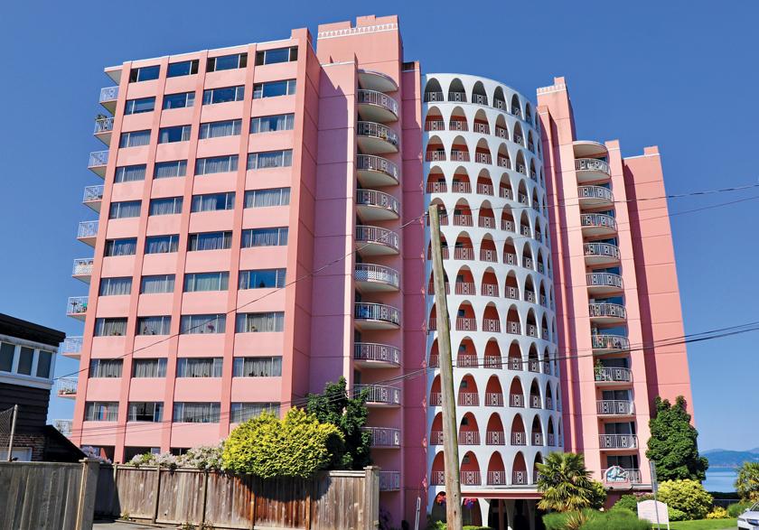 Villa Maris Apartments Pink Palace