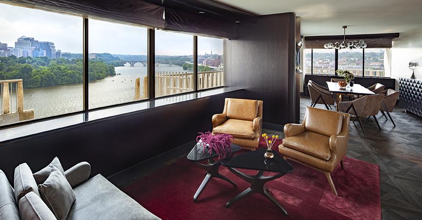 Watergate Hotel suite