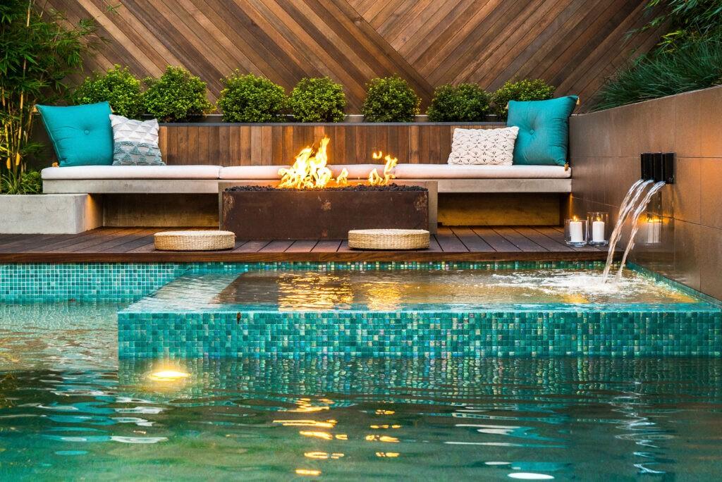 Backyard landscape and design