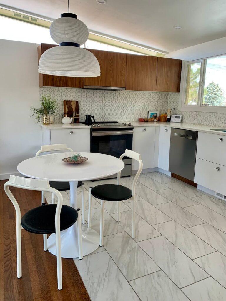 Harvey Park renovated kitchen